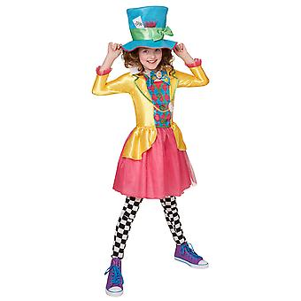 Girls Mad Hatter Costume - Alice in Wonderland