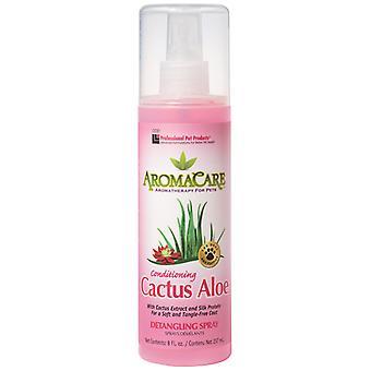 Produits professionnels pour animaux de compagnie Aromacare Cactus Aloe Spray 237ml