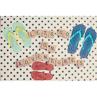 Coloko Laelia Ergonomic Footbed Spotty Flip-Flops