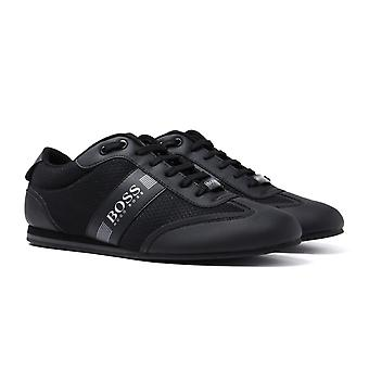 BOSS  Lighter Lowp Black Trainers