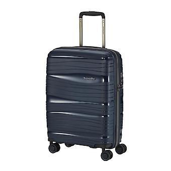 travelite Motion Handbagage Trolley S, 4 wielen, 55 cm, 37 L, blauw