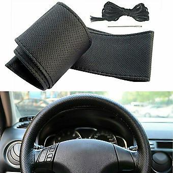 ARO 10 Series, 24 Series, IMS Series, M Series Black Car Steering Wheel Cover DIY Kit
