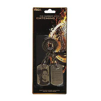 The Hunger Games Catching Fire Katniss Dog Tags