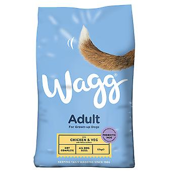 12kg Sac Wagg pui legume uscate dog alimente carne Snack Treat