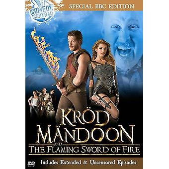 Krod Mandoon & the Flaming Sword of Fire [DVD] USA import