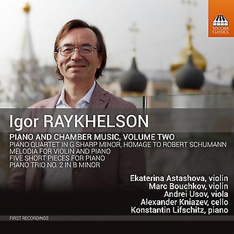 Piano & Chamber Music 2 [CD] USA import