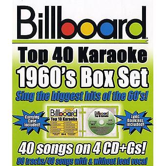 Billboard Top 40 Karaoke - Billboard 1960's Top 40 Karaoke Box Set [CD] USA import