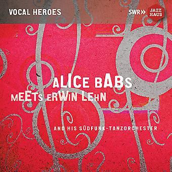 Alice Babs Meets Erwin Lehn [CD] USA import