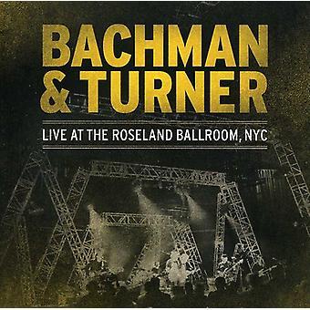 Bachman & Turner - Live at Roseland [CD] USA import