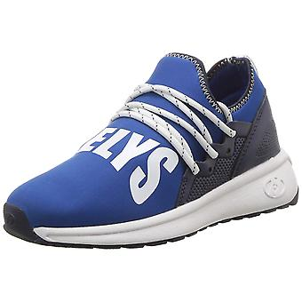 Kids Heelys Girls HE10046H Low Top Lace Up Trail Running Shoes