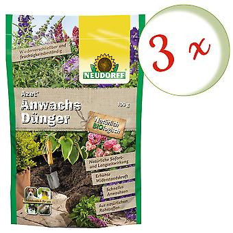 Sparset: 3 x NEWDORFF Azet® wax fertilizer, 100 g