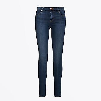 J Brand - Maria - High Rise Skinny Jeans - Blauw