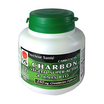 Carbo'activ charcoal anise 60 capsules