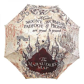 Harry Potter Umbrella Marauders Map Hogwarts new Official