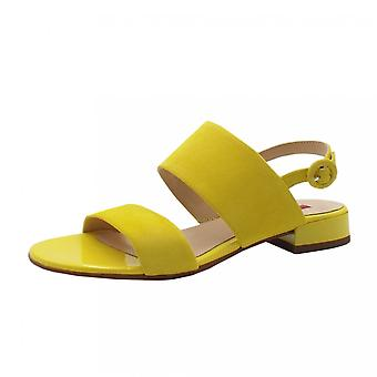 Högl 9-10 1112 Merry Chic Sandals In Lemon Suede