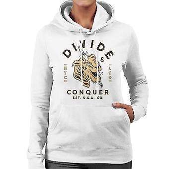 Divide & Conquer NYC Tiger Dagger Women's Hooded Sweatshirt