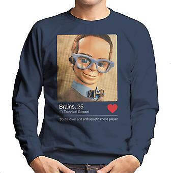 Thunderbirds Gehirne Dating App Profil Männer's Sweatshirt