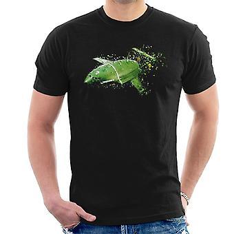 Thunderbirds Shattered Thunderbird 2 Effect Men's T-Shirt
