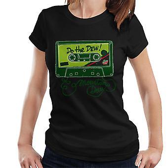 Mountain Dew mix tape vrouwen ' s T-shirt