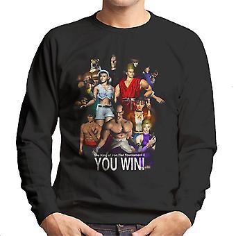Tekken King Of Iron Fist You Win Men's Sweatshirt