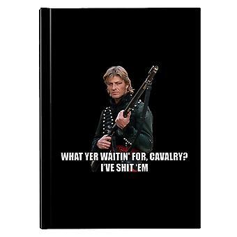 Sharpe lo que Yer espera para la caballería Sean Bean Hardback Journal