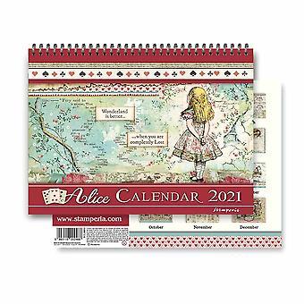Calendar 2021 Alice (ECL2109)