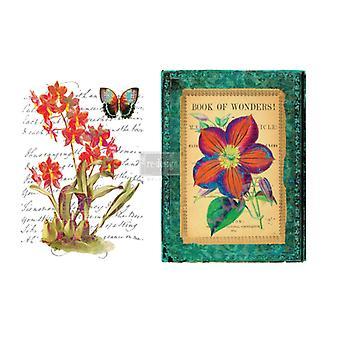 Re-Design med Prima underbara Flora 22x32 Inch Decor Överföringar