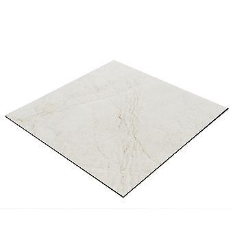 BRESSER Flatlay Hintergrund für Legebilder 40x40cm Lederoptik weiß