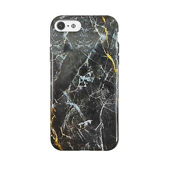 Eco Friendly Printed Black Marble iPhone SE / 8 / 7 / 6 Case