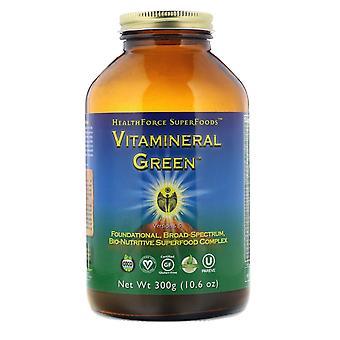HealthForce Superfoods, Vitamineral Green, Version 5.5, 10.6 oz (300 g)