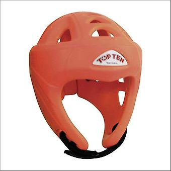 Top ten avantgarde head guard orange