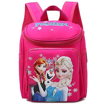 Girls Frozen Elsa Anna Snow Queen Princess - Plush Backpacks Kids Disney School