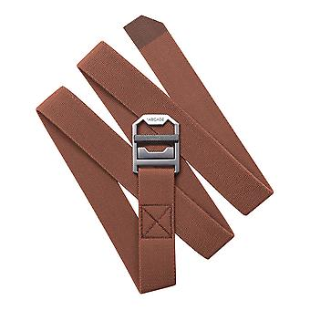 Arcade Guide Slim Webbing Belt in Vermilion