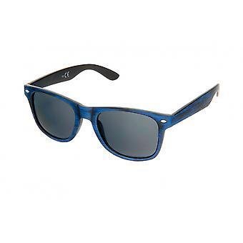 Sonnenbrille Unisex    schwarz/blau (H62)