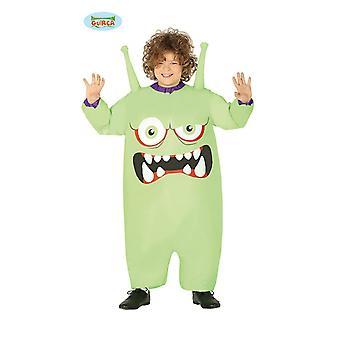 Zzcostumes Guirca inflável traje de monstro alienígena para crianças