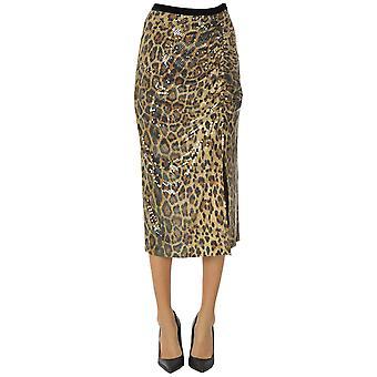 Itmfl Ezgl530006 Femme-apos;s Jupe en polyester léopard