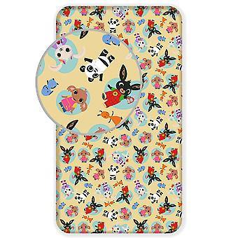Bing Bunny Single Fitted Sheet
