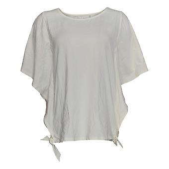 Belle by Kim Gravel Women's Top TripleLuxe Knit White A351250