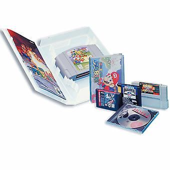 Universaali peli kotelo SNES, N64, Sega Megadrive (Genesis), Master System-10-pakkaus | zedlabz