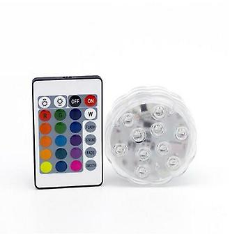 13/10 Leds Swimming Pool Lights With Remote Control Rgb Dive Light Durable Led Bulb And Portable