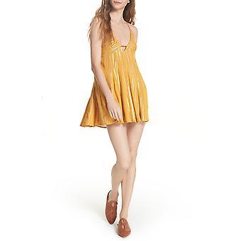 Free People | Here She Is Embellished Slip Dress
