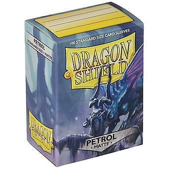 Dragon Shield 11020 Manches taille standard mate 100pk-Essence (Pack de 10)
