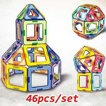 Μεγάλο μέγεθος μαγνητικά μπλοκ σχεδιαστών κατασκευή παιχνίδια που μοντελοποίηση & buillding