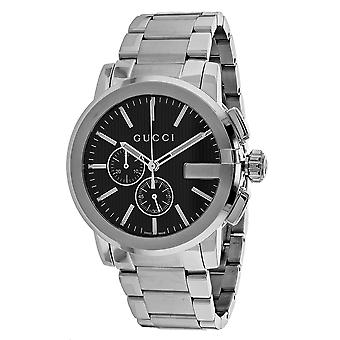 Gucci Men's G-Chrono Black Dial Watch - YA101204