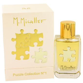 Micallef Puzzle Collection No 1 Eau De Parfum Spray By M. Micallef 3.3 oz Eau De Parfum Spray