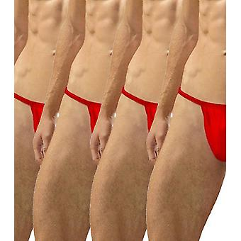 Sling g-string red pack of 4