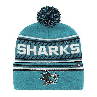 47 Brand Beanie Winter Hat - THE ICE San Jose Sharks