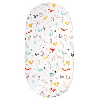 Baby Bassinet Sheet Stretch Fitted Changing Pad Cover- Cute Cartoon Crib Fitted