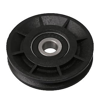 60mm OD Black Groove Bearing Pulley Cable Wheel for Gym Equipment Parts