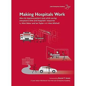 Sairaaloiden saaminen toimimaan: Miten parantaa potilaiden hoitoa ja säästää samalla kaikkia'aikaa ja sairaaloita' resursseja